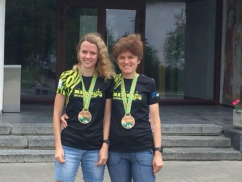 Победитель и призер возрастных групп на дистанции Т10