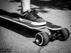 All Terrain Longboard. (dgjeffery1969) Tags: longboard skateboard blackandwhite allterrain chelmsford