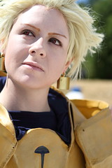 Gilgamesh - Close Up (NekoJoe) Tags: amecon amecon2018 ame ame2018 animeconvention archer closeup convention cosplay cosplayer coventry england fate fategrandorder gb gbr geo:lat=5237891815 geo:lon=156174973 geotagged gilgamesh midlands nes nesproxy nesproxycosplay uk unitedkingdom warwickartscentre
