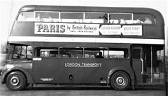 London transport RTC1 on bus service 1950's. (Ledlon89) Tags: bus buses london transport lt lte londonbus londonbuses londontransport vintagebuses