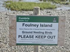 Foulney Island Sign b (Dugswell2) Tags: foulneyisland bsib caton sign siteofspecialscientificinterestsssi specialareasofconservationsac specialprotectionareasspa cumbriawildlifetrust