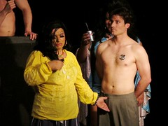 2((2) (danimaniacs) Tags: shirtless man guy dragqueen penelopecruz sketchyqueens stage theater