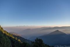 Himalayan Ranges (myshutterworld) Tags: india nature uttrakhand hdr landscape panorama sunrise mountains himalayan ranges nanda devi first light rays forest