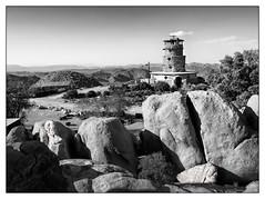 Desert Tower - Jacumba, CA (GAPHIKER) Tags: stonetower stone tower bertvaughn wtratcliffe ratcliffe carving sculpture jacumba california historical landmark no939 eclampusvitus squibob folk art inkopahroad inkopah selective color sc animals