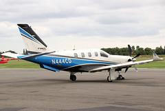 N444CD (GH@BHD) Tags: n444cd socata daher tbm tbm700 tbm900 tbm930 930transportservices eiwt westonairport bizprop corporate executive aircraft aviation