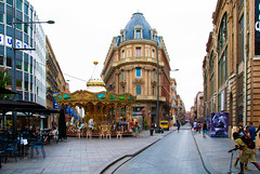 Toulouse (scrimmy) Tags: france toulouse carousel street building