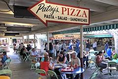 Patsy's Pizza (AntyDiluvian) Tags: california losangeles la farmersmarket restaurant cafe pizza patsyspizza restaurantarea