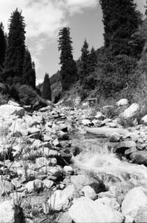smältvattenflöde, Kok Zhilau (Almaty)