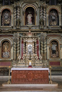 Córdoba, Manzana Jesuítica, Iglesia de la Compañía de Jesús, altar