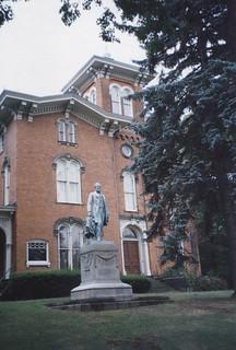Jamestown New York  - Gov. Reuben Fenton Mansion - Fenton HIstory  Center - Exterior