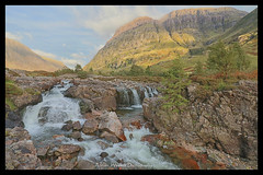 Glen Coe waterfalls. (Adrian Walker.) Tags: elements glencoe scotland waterfall canon80d tamron koodfilters tripod