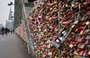 Heavy load of love (Ernst_P.) Tags: deu deutschland köln nordrheinwestfalen liebesschloss brücke hohenzollernbrücke schloss vorhängeschloss sigma 24105mm f40