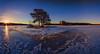 Sunrise (Kari Siren) Tags: sun morning ice lake isle spring karijarvi jaala finland