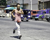 Running Man (Beegee49) Tags: man running street bacolod city philippines