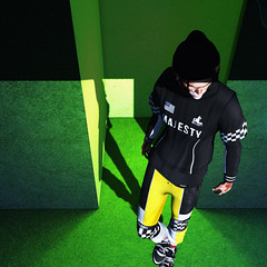 Rquavan. //// Majesty @ Man Cave (NEVADA PARK • 1997) Tags: fashion fashionmodel face flawless flickr fashionstatement flickrbeauty model mesh modern makeup minimal men malemodel male menfashion magazine modernwear menswear menclothing metro streetwear pose photo perspective portrait photography power photoshop perfect photoraphy pants mancave design daytime david secondlife style sl skin signature summer shape semller majesty sexy stealthic xenials explorer