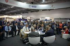 ESA Director General Jan Wörner meets industry in the Space Zone at Farnborough International Airshow, 17 July 2018r_General_Jan_Woerner_meets_industry_in_the_Space_Zone_at_Farnborough_International_Airshow_17_July_2018 (europeanspaceagency) Tags: fia18 fia2018 farnborough farnboroughairshow farnboroughinternationalairshow esa europeanspaceagency space universe cosmos spacescience science spacetechnology tech technology uk janwörner