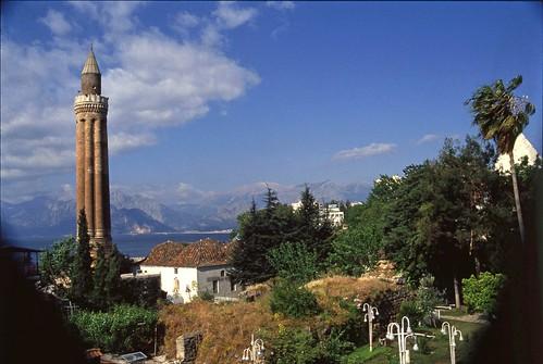 Fluted Minaret in Antalya