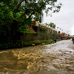 The Bagmati River flowing through the Shree Pashupatinath Temple, Kathmandu, Nepal thumbnail