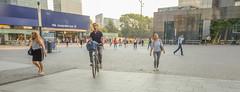 DSCF5397 (amsfrank) Tags: amsterdam zuidas cirlce candid summer morning