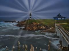 Creando Luz (la_magia) Tags: agua galicia mareas faro rocas naturaleza islapancha lugo mar vegetacion ribadeo españa