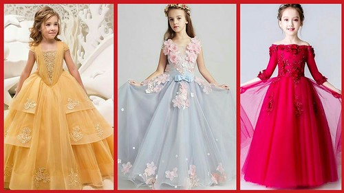 95fb9f62b Latest Baby Gown Dress Designs   kids Princess Style Frocks  Kids ...