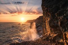 Marin Headlands VII (sberkley123) Tags: california d850 nikon marin usa sunset ocean colors marinheadlands sanfrancisco coast pacific 1424mm