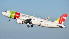 Airbus A320-251N I CS-TVA I TAP Air Portugal (Gustavo H. Braga) Tags: tapairportugal aviation airplanes airport aviação aviacao aviao aeronaves aeroporto airbus a320 a320neo takeoff lisbon portugal