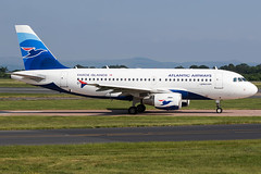 OY-RCI / Atlantic Airways / Airbus A319-112 (Charles Cunliffe) Tags: canon7dmkii aviation manchesterairport egcc man atlanticairways fli rc airbusa319 oyrci