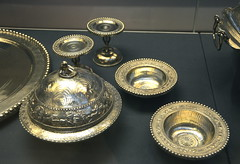 Flanged bowl and cover (afagen) Tags: london england uk unitedkingdom greatbritain camden bloomsbury britishmuseum museum bowl silver