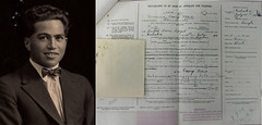 George Nepia Passport application and photograph (1924) (Archives New Zealand) Tags: archivesnewzealand archives archivesnz allblacks rugby rugbyunion sport maori aotearoa newzealand nz nzhistory newzealandhistory portrait application hawkesbay passport