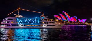 Vivid Boat and Opera House