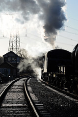 GCR 70498 (kgvuk) Tags: gcr greatcentralrailway swithland swithlandsidings railway train steamtrain locomotive steamlocomotive steamengine 48624 8f 280 rothley