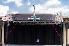 DAD_1851r (crobart) Tags: high wire balancing ultimate thrills circus show performance acrobatics acrobats canadas wonderland amusement theme park cedar fair