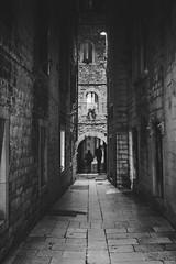 Split, Croatia (pas le matin) Tags: vert alley road travel voyage world building people gens night nuit ville city street rue ruelle croatia croatie hrvatska split canon 7d canon7d canoneos7d eos7d