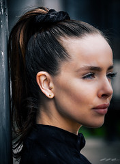 Demi (timmawphotography) Tags: model demi skinner pony tail fitness yoga training