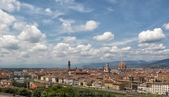 FLORENCE (mark_rutley) Tags: city firenze florence italy travel urban piazzalemichelangelo panorama clouds sky oldbuildings history