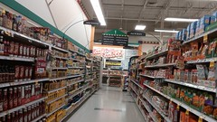 ...and up Aisle 1, towards the back (Retail Retell) Tags: oakland tn kroger millennium décor era store mirror image twin doppelganger reversed carbon copy former hernando ms fayette county retail 2018 remodel fresh local neighborhood flair historical images captions