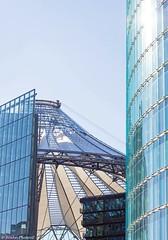 Sony Center Berlin (Jenke-PhotozZ) Tags: berlin sonycenter glass details design dbtower potsdamerplatz buildings architecture architektur abstrakt fassade