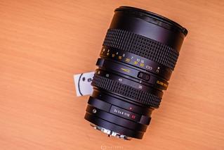 Tokina RMC Close Focusing Zoom 35-105mm f3.5 // Konica Macro-Hexanon AR 55mm 1:3.5