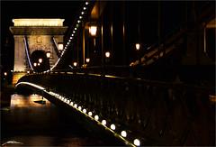 Széchenyi Lánchíd - Danube -Budapest- (Million Seven) Tags: chainbridge széchenyilánchíd szechenyilanchid puentedelascadenas chain cadenas buda pest budapest aquincum hungary hungría magyarország magyarorszag europa europe river rio danube cityofdanube capital metropolis cosmopolitan johnzápolya johnzapolya iron hierro emperor emperador franzjoseph franciscojosé miklósybl miklosybl istvánszéchenyi istvanszechenyi williamthierneyclark adamclark jánosmarschalkó janosmarschalko structure historial landmark water glamour glamur elegant elegance riverfront rivera promenade night nikon nikond3100 millionseven