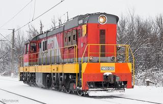 ЧМЭ3-3621, станция Ожерелье, Московская область