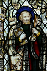 Church Window in All Saints Church, Barmston, Yorkshire (Welderman63) Tags: church window religious religion colour colors art barmston yorkshire england canon 70d