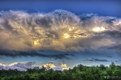 Thor's Arrival (Pearce Levrais Photography) Tags: sky cloud thunder lightning hdr canon picoftheday photooftheday landscape tree plant amazing storm explore nh newhampshire ufo alien thor beautiful majestic spectacular