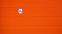 Minimal - Sign (Visual Stripes) Tags: minimal sign orange wall architecture detail