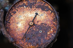 MacroMondays #Decay (Sarah E Springer) Tags: macromondays decay rust round texture