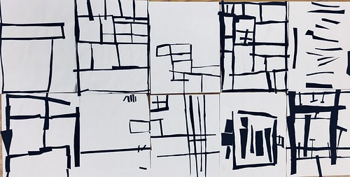 "Same #pietmondrian #kindergarten gridded #collage at its most simple elegance in black and white • <a style=""font-size:0.8em;"" href=""http://www.flickr.com/photos/57802765@N07/30026523038/"" target=""_blank"">View on Flickr</a>"
