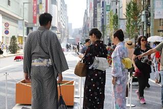 Summer Ginza Walk