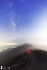 Milky Way. Buyen Pavilion 不厭亭銀河 & 過山雲 (Steven Weng) Tags: 不厭亭 過山雲 銀河 新北市 台灣 taiwan taipei canon eos5d2 ef1740 milky way 102縣道 pavilion