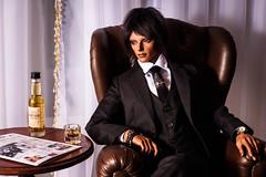 A glass of whisky (*Ryuugan*) Tags: doll bjd abjd leonard iplehouse