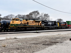 Ready to go (Robby Gragg) Tags: ns reading rdg sd70ace 1067 silvis